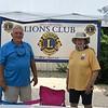 Nancy Madden President and  Gary Atkins VP - BG Lions Club