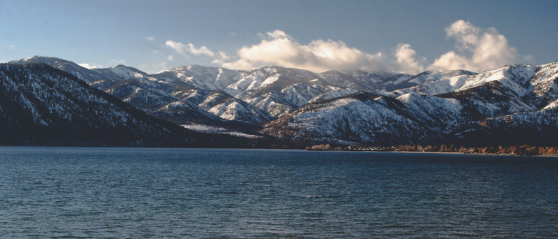 Lake Chelan, Winter