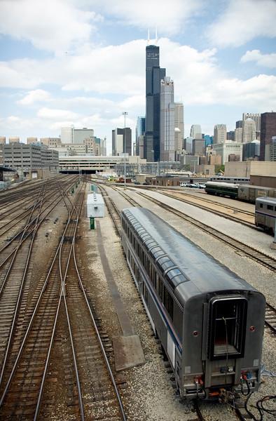 Train into the city