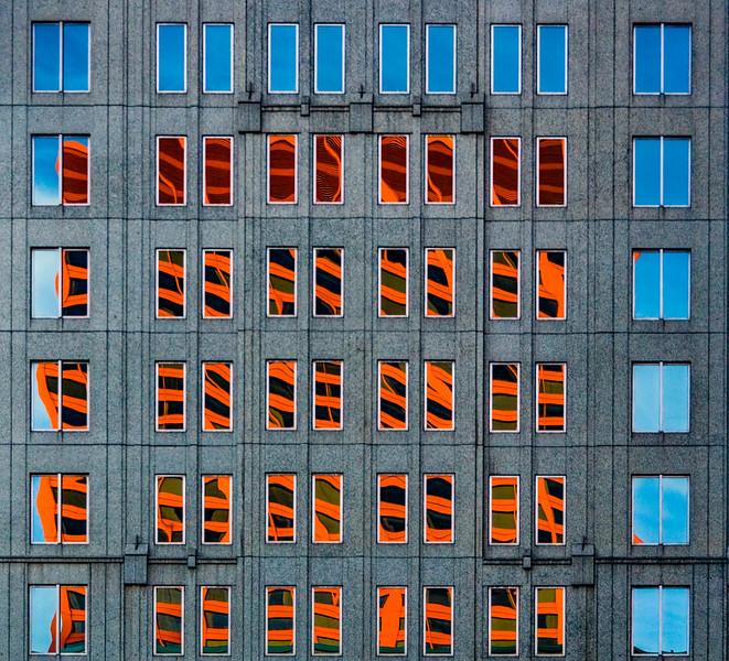 Rhapsody in Orange and Blue