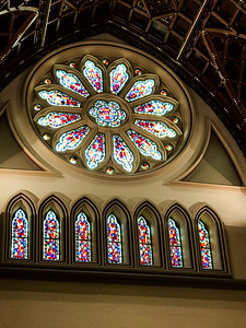 Stain Glass at the Cathedral