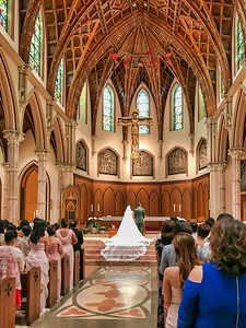Wedding at the Cathedral