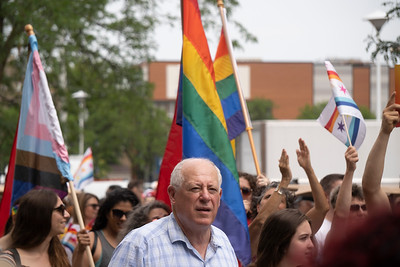 Former Illinois Governor Pat Quinn at Chicago's Pride Parade