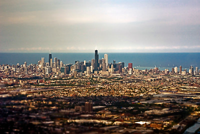 Chicago from the Plane