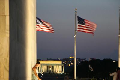 Washington Monument Sunset  637