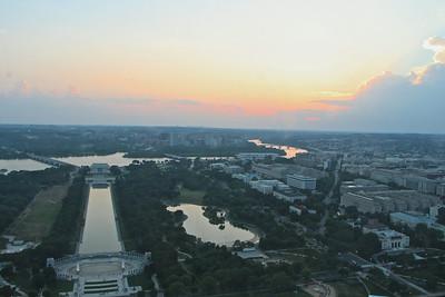 Washington Monument Sunset  557