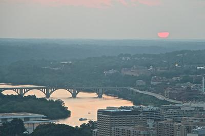 Washington Monument Sunset  566
