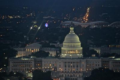 Washington Monument Sunset  615