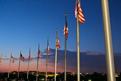 Washington Monument Sunset  636