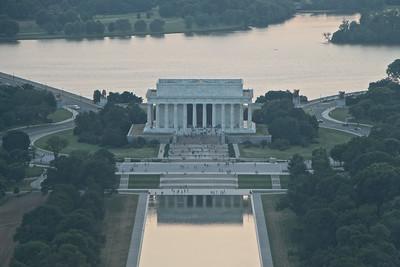 Washington Monument Sunset  558