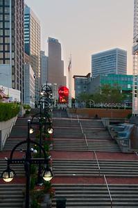View from Underground Atlanta/