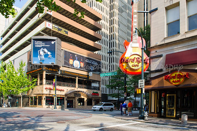 Hard Rock Cafe on Peachtree Street in Atlanta