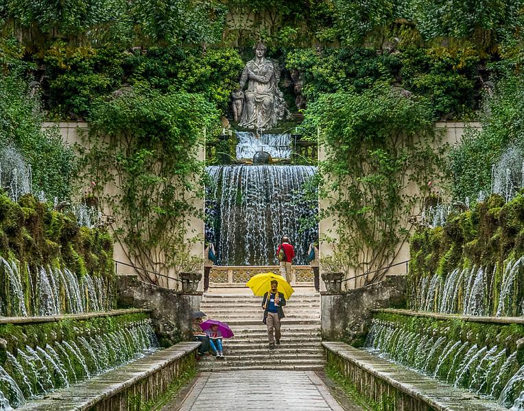 Fountains, Villa d'Este, Tivoli