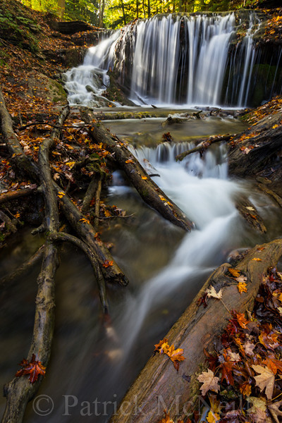 Weaver's Creek Falls, Owen Sound, Ontario