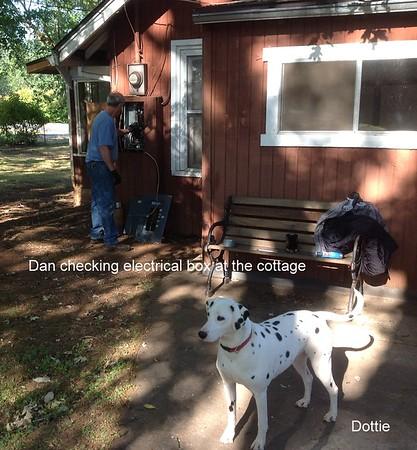 06-10-2013 Dan visits the Cottage
