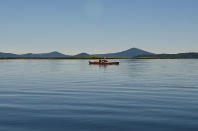 finally, on the lake