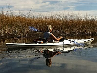 Nancy on Recreation Creek