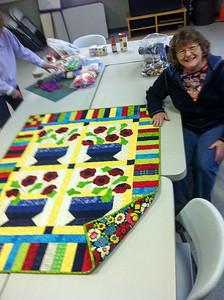 Diane's fun quilt