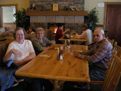 buffet lunch at AnnieCreek