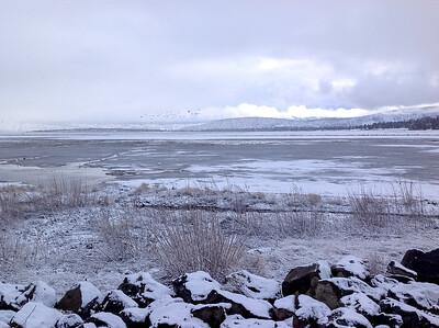 the birds are back on upper Klamath Lake