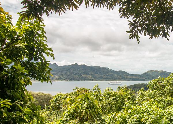 Around Huahine