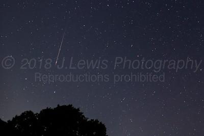 Perseid Meteor Showers 2018