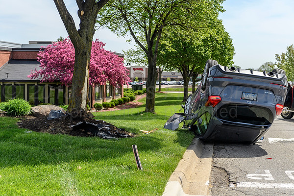 5-18-2018 Car accident Rochester Hills