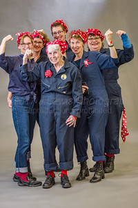 Original Rosies at the World Record event 2017