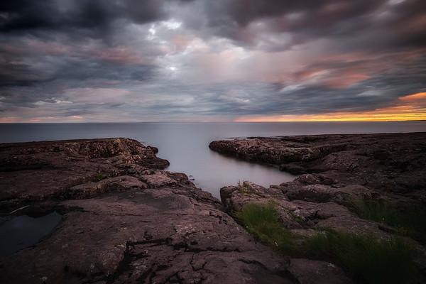 Sunset at Stoney Point