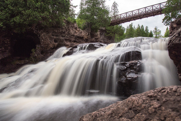 Bridge Over Gooseberry Falls