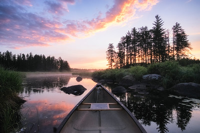 Sunday Morning Canoe