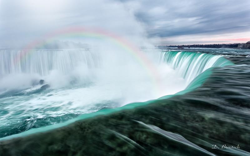 Niagara Falls Early Morning Rainbow