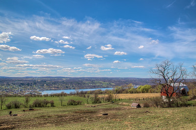 Above Seneca Lake, New York