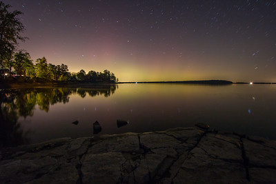 Northern Lights Plattsburgh Lake Champlain