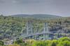 Mid Hudson Bridge from Poughkeepsie