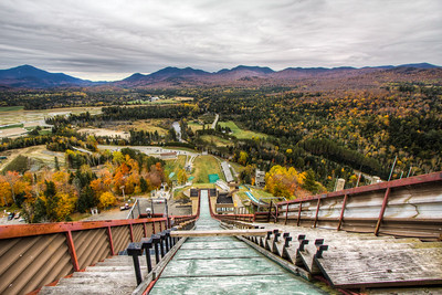 Ski Jump Lake Placid Olympics New York