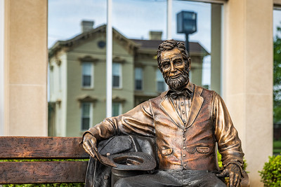 Abe Lincoln Art Piece