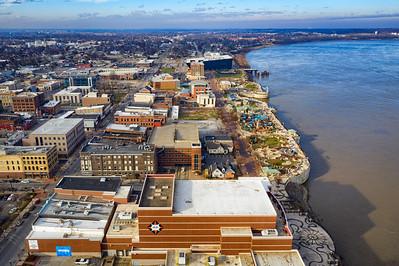 Aerial - Downtown Owensboro