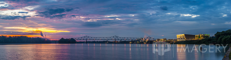 Panorama - Ohio River Sunrise