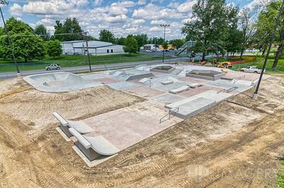 Owensboro Skatepark - Aerial