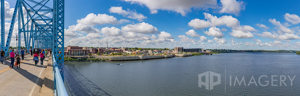 Pano - Bridge Walk & Ohio River