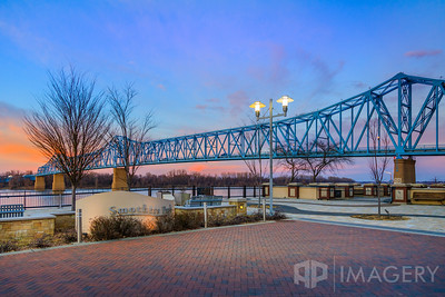 Smothers Park and Blue Bridge