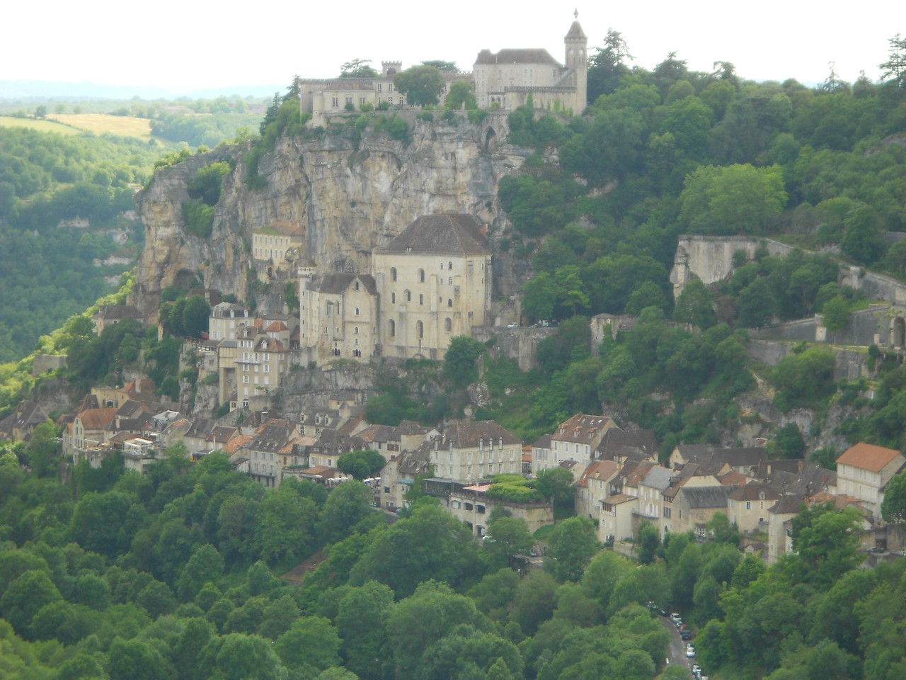 Rocamadour - another must-see for visitors - about and hour and a half drive.