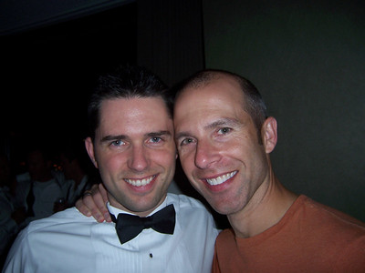 Chris with the hot guy from out of town, Brian