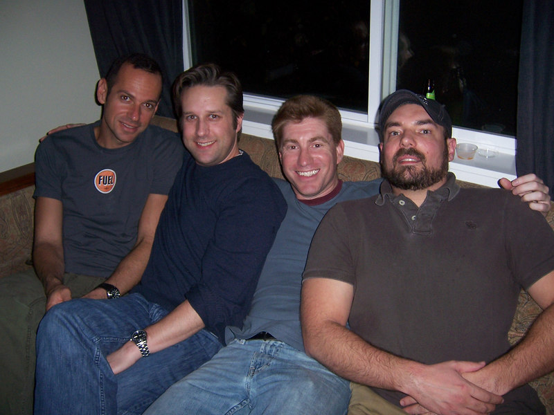 Me with Matt, Ted, and David