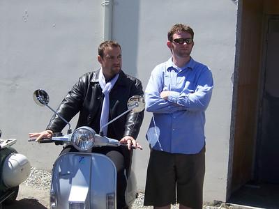 Ben with O'Ryan