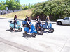 """One scooter gang """"The Bella Donnas"""""""