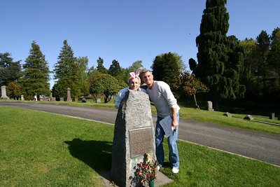 Just like the Mercers, Joe, Don and David were the only team to find Princess Angeline's grave.  She was Chief Sealth's daughter.