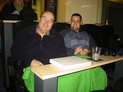 A better picture of Dinarte and John.  Dinarte is one of the co-owners of the suite.