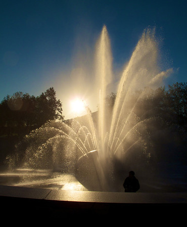 Seattle Center Fountain at its best